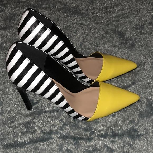 Shoe Dazzle Shoes   Shoe Dazzle Yellow